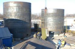 Производство стальных резервуаров фирмой ЗАО «Нефтегазмонтаж»