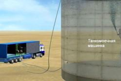 Эффективность очистки резервуаров установкой МКО-1000 близка к 100%