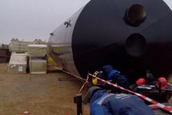 Защита резервуаров от коррозии — одно из направлений деятельности завода «ОЗРМ» (Самара)