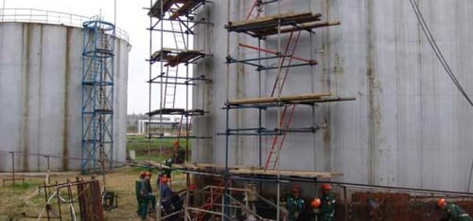 ГК «Резервуаростроитель» – осмотровый, текущий и капитальный ремонт резервуаров