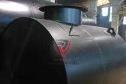 Производство и установка стальных цилиндрических горизонтальных резервуаров