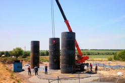 Монтаж вертикальных резервуаров для систем пожаротушения и теплоснабжения