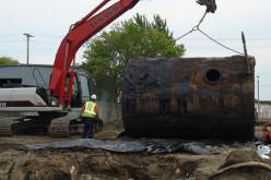 Демонтаж резервуаров и содействие в оформлении документов для проведения работ