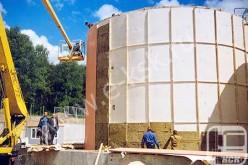 Антикоррозийное защитное покрытие резервуаров методом электродуговой металлизации