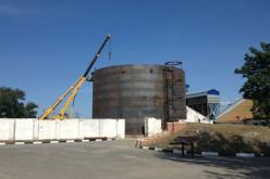 Большой опыт проведения монтажа резервуаров компанией ООО «ВЗРТО» (Волгодонск)