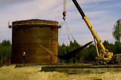 Рулонированный метод сборки резервуаров компанией ЗАО «Металлоконструкции Челябинск»