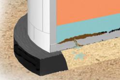 Система анодного заземления для антикоррозийной защиты днища стальных вертикальных резервуаров