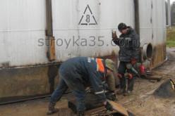 Компания «УКС 12» (Вологда) – все виды ремонта резервуаров для различных нефтепродуктов