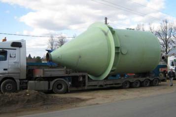 Набор услуг по безопасной перевозке резервуаров от компании «Унисервис Логистикс» (Москва)
