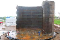 Импортное монтажное и сварочное оборудование при монтаже цилиндрических вертикальных резервуаров