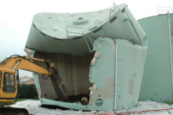 Демонтаж и последующая утилизация резервуаров от компании «Строй Фасад» (г. Москва)