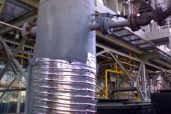 Использование для обогрева резервуаров гибких металлических панелей с нагревательным элементом
