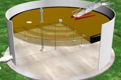 Производство алюминиевых понтонов для резервуаров компанией ООО «Резервуар» (г. Ангарск)