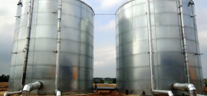 Строительно-монтажные работы по возведению резервуаров компанией «ФЛАМАКС»