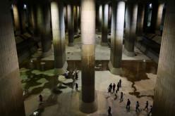 Самый объемный в мире резервуар для воды построен в Японии