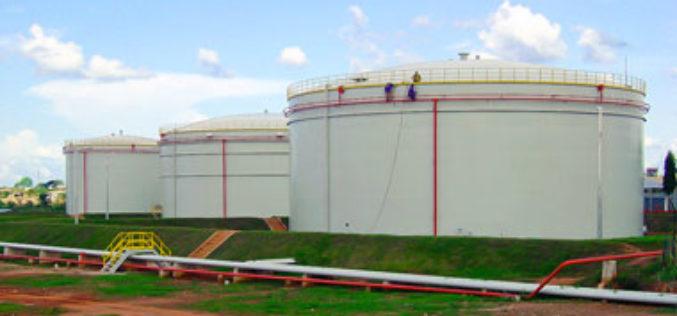 На ЛДПС «Рязань» началось возведение нового вертикального резервуара