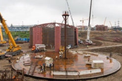 Возведением крупных резервуаров начался второй этап строительства Московского НПЗ