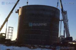 САРРЗ – строительно-монтажные работы вертикальных и горизонтальных резервуаров