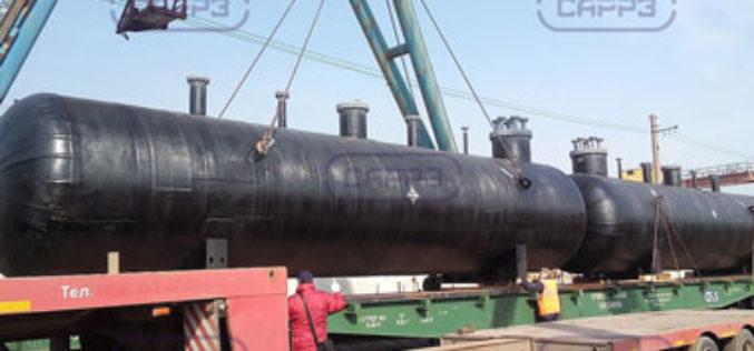 Производство емкостного оборудования Саратовским резервуарным заводом (САРРЗ)