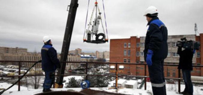 На территории «ТЭК Санкт-Петербурга» было проведено испытание робота для диагностики крупных резервуаров