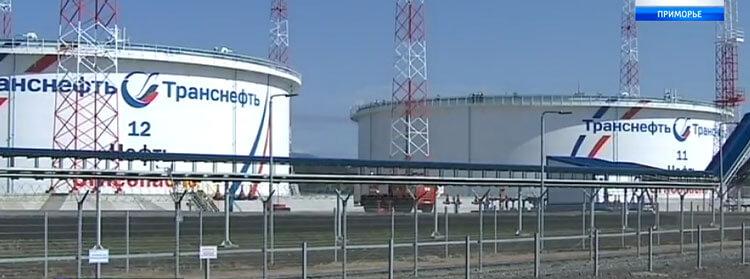 Два новых резервуара для нефти