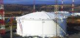 Строительство нового резервуара на 50 000 м3
