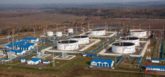 АО «Транснефть» приступило к монтажу девятого нефтяного резервуара на ГНПС «Тайшет» в Иркутской области