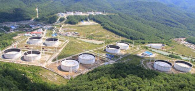 Замена железобетонных резервуаров на новые РВС на перевалочном комплексе «Шесхарис»