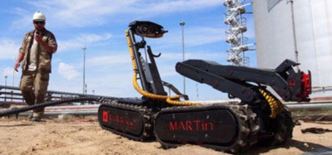 Группа компаний «Миррико» использует роботизированный мобильный комплекс MARTin для зачистки резервуаров АО «Мангистаумунайгаза»