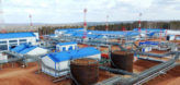 Новый резервуар для хранения нефти на ГНПС Тайшет