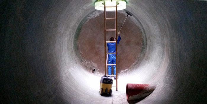 гидроизоляция металлического резервуара