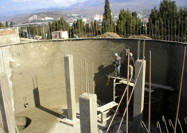 гидроизоляция бетонного резервуара