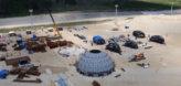 Монтаж шаровых резервуаров на амурском ГПЗ
