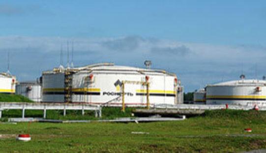Нефтяные резервуары Ачинского НПЗ впервые просканировали 3D тахеометром