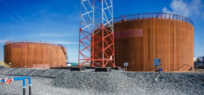 Завершен монтаж и проведены гидравлические испытания двух резервуаров на линейной производственно-диспетчерской станции «Омск»