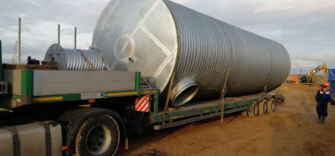 Современные решения промышленных резервуарных подземных систем от компании Ergostal