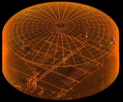 3D-сканирование резервуара