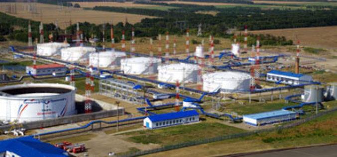 На новом построенном резервуаре ЛПДС «Тихорецкая» проведены гидравлические испытания